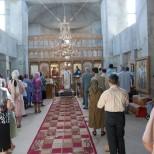 Sfanta Liturghie in biserica Sfantul Gheorghe Titan