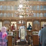Slujba in biserica Sfantul Gheorghe Titan