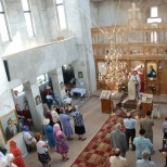 Slujba in biserica
