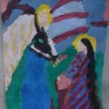 Arhanghelul Mihail si Fecioara Maria