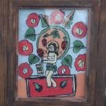 Cerc de pictura - icoane pe sticla